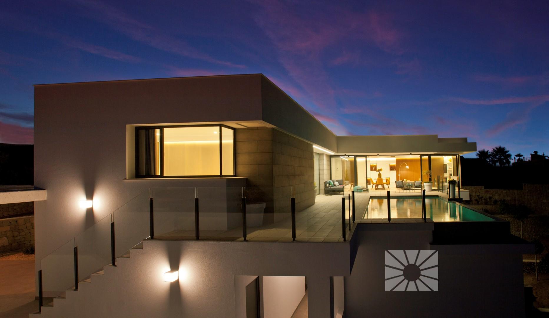 Lirios sunrise cumbre del sol villa moderne à vendre ref: al027 ...