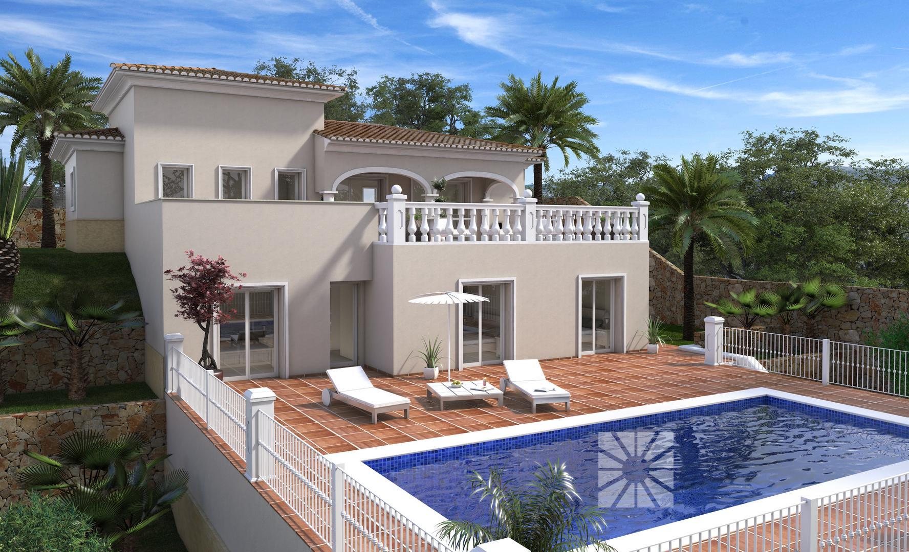 Chalet en cumbre del sol modelo nisida for Mar villa modelo