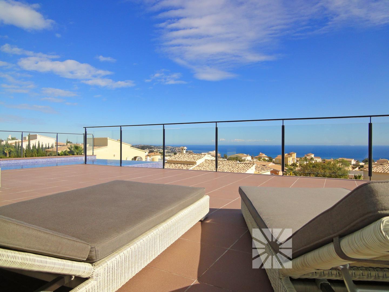 Hierro terraza frente al mar for Mar villa modelo