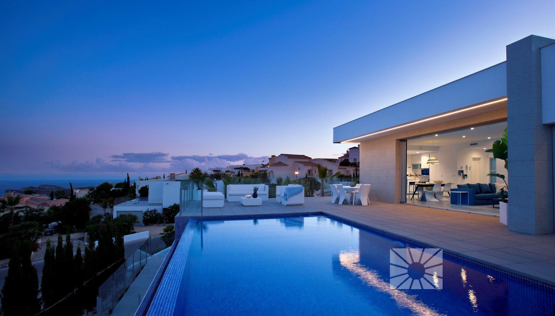 Lirios Design Modern Villas For Sale In Cumbre Del Sol