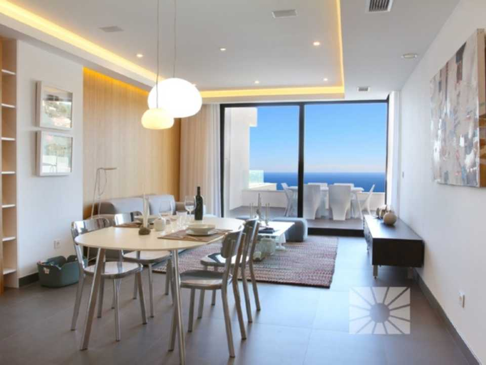 Blue Infinity Cumbre del Sol Benitachell Luxury apartment for sale ref: RFA29