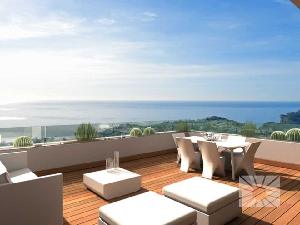 Blue Infinity Cumbre del Sol Benitachell Luxury apartment for sale ref: RFA28