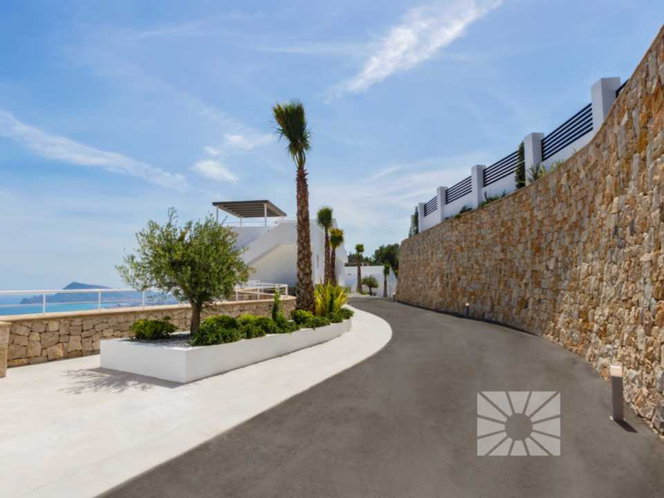 Marketing Exterior Vista hacia Altea H2 Altea Golden AZURE ALTEA HOMES Altea