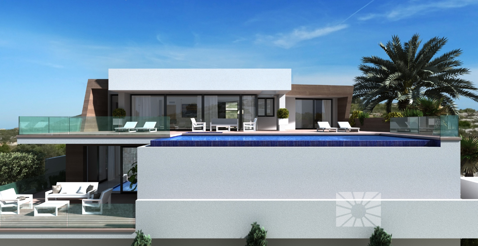 Villa bellavista moderne luxe villa te koop in woonwijk jazmines