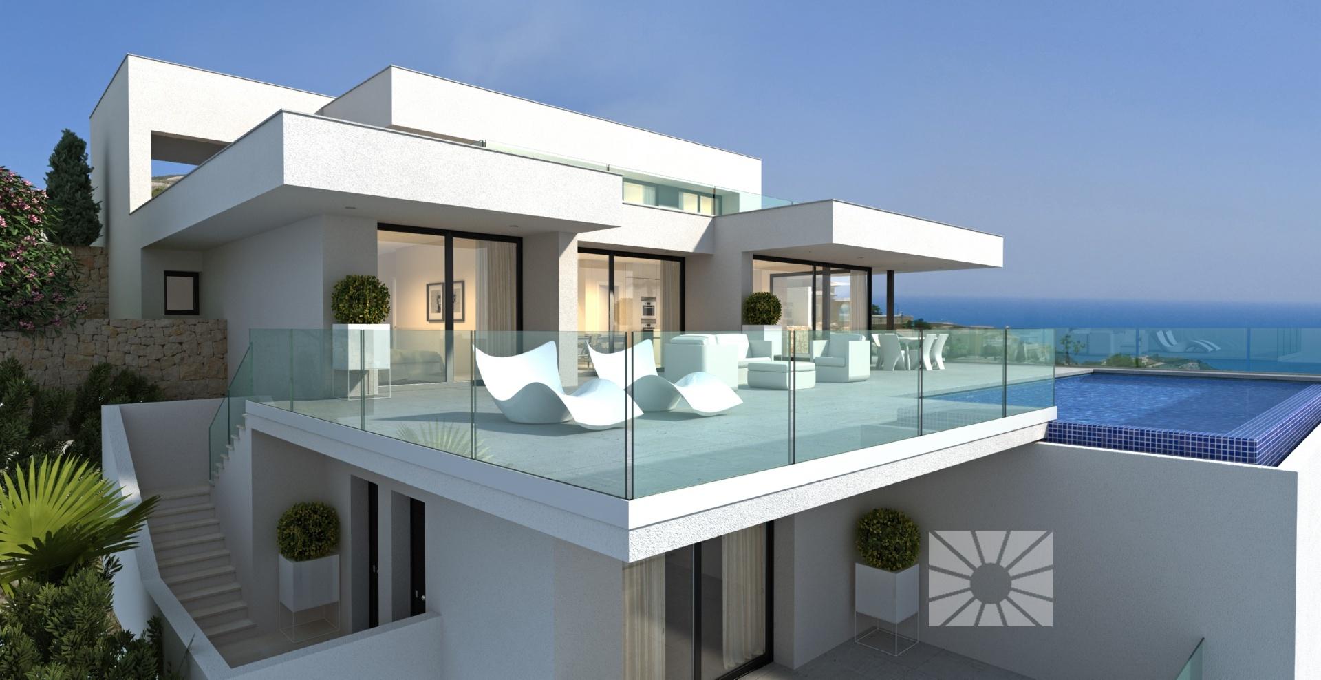 Villa horizonte moderne villa te koop in woonwijk jazmines cumbre