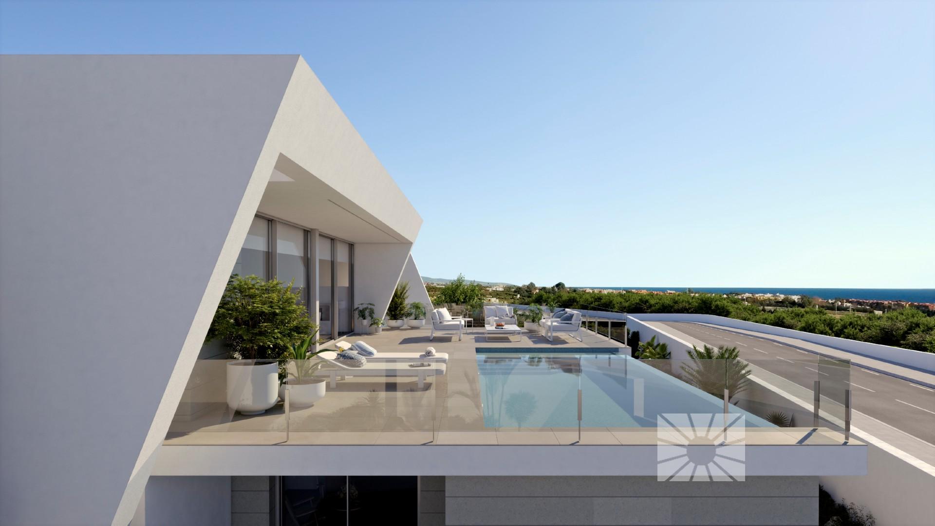 Lirios Design Cumbre del Sol Moderne Villa Zum verkauf ref: AL176 ...