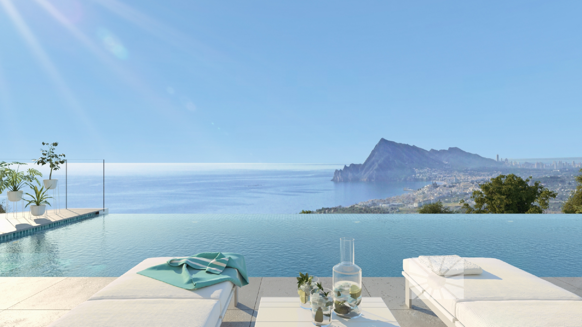 Marketing Buitenkant Uitzicht vanaf Altea H2 Altea Golden Altea