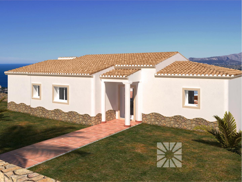 Venta chalets en cumbre del sol villa modelo pula de 138 06 m2 - Modelos de chalet ...