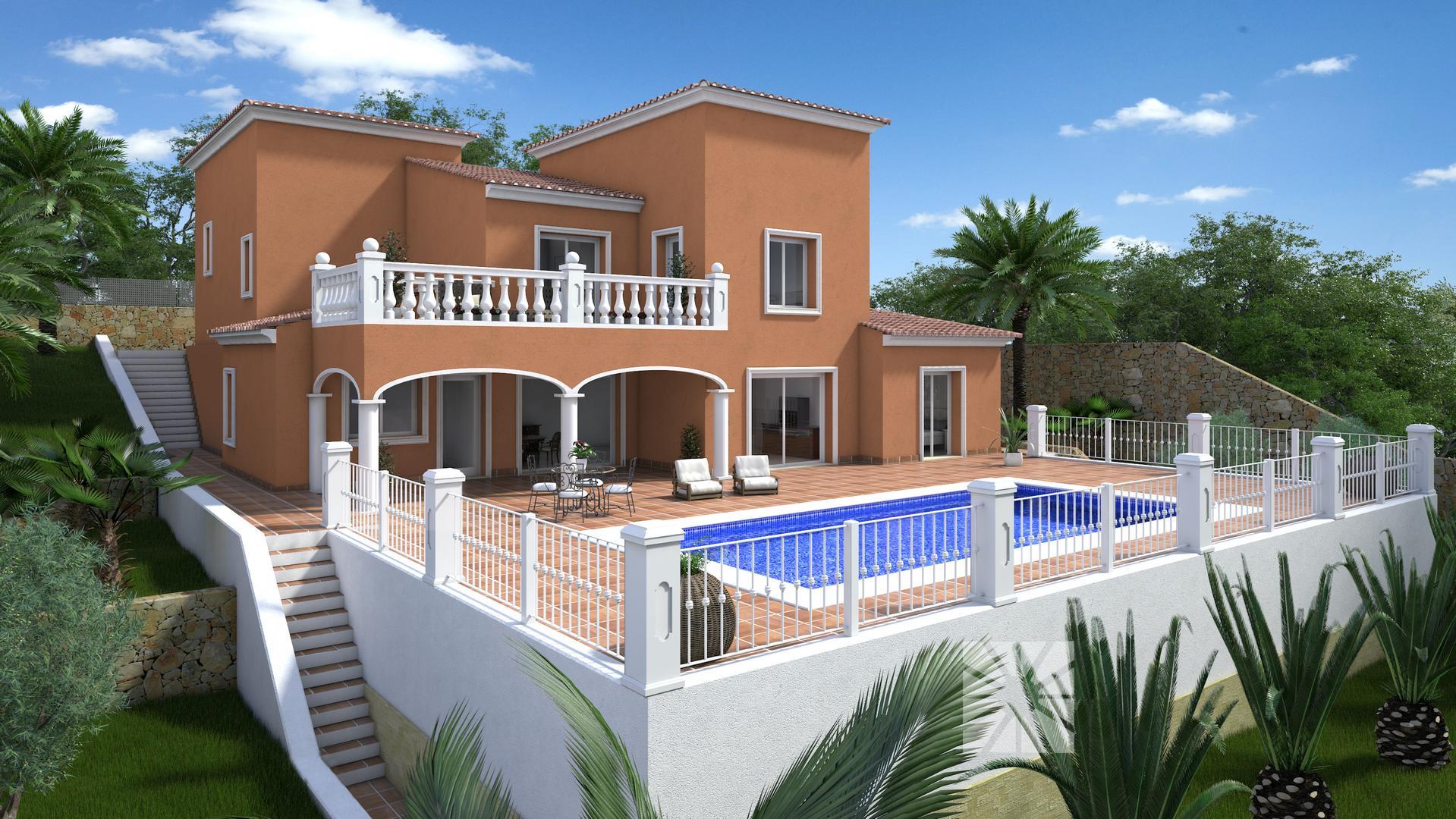 Venta chalets en cumbre del sol villa modelo berna de 249 - Modelos de chalet ...