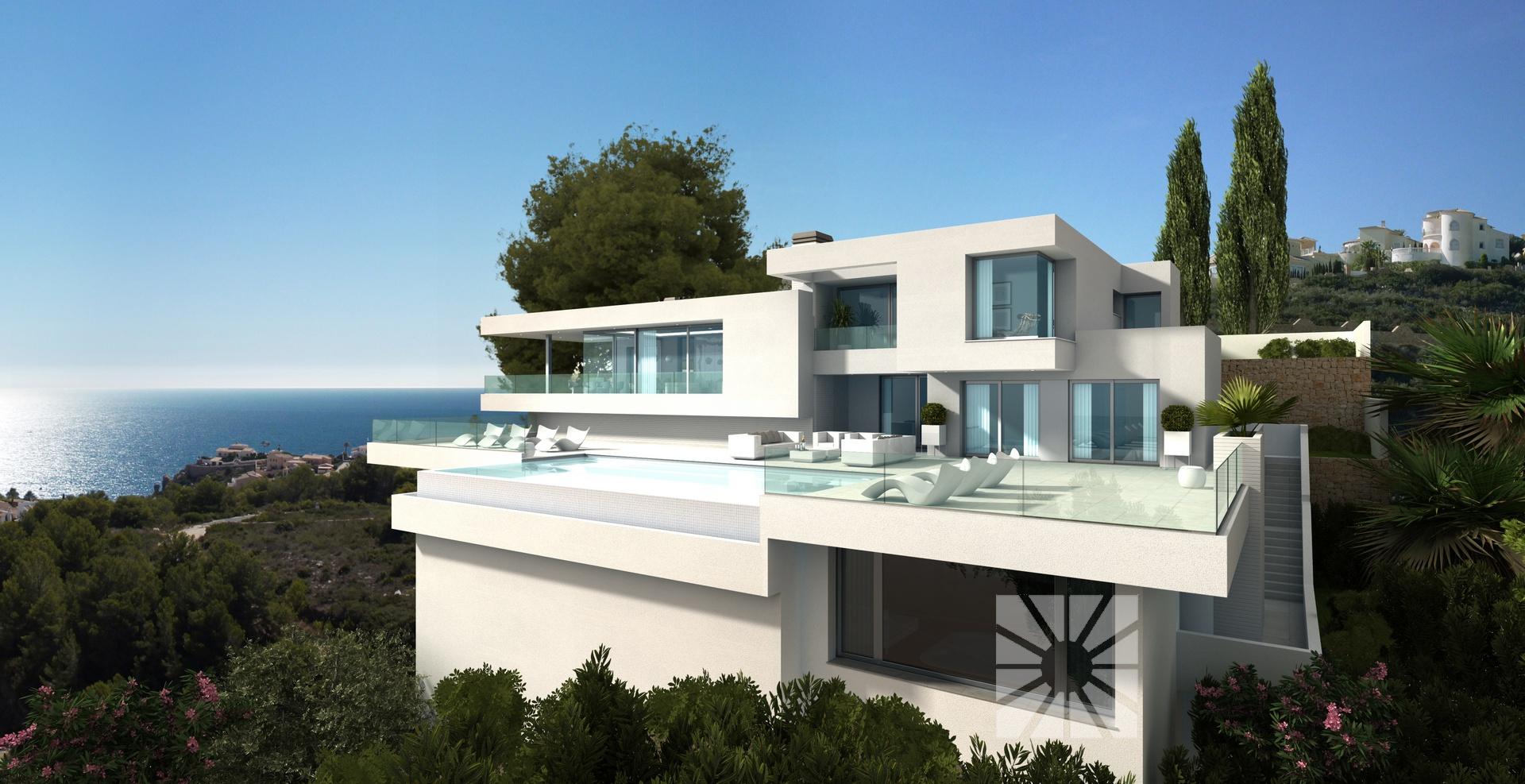 Haus Villa Ibiza, Villa zum Verkauf auf der Cumbre del Sol ...