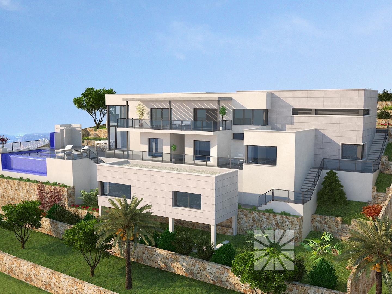 Villa Cap DOr, Villa zum Verkauf auf der Cumbre del Sol Grundstück ...