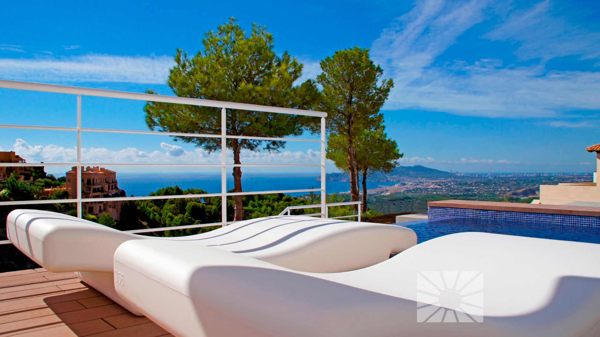 De marketing Extérieur Contemporain Retour au début AZURE ALTEA HOMES HB002 AZUR