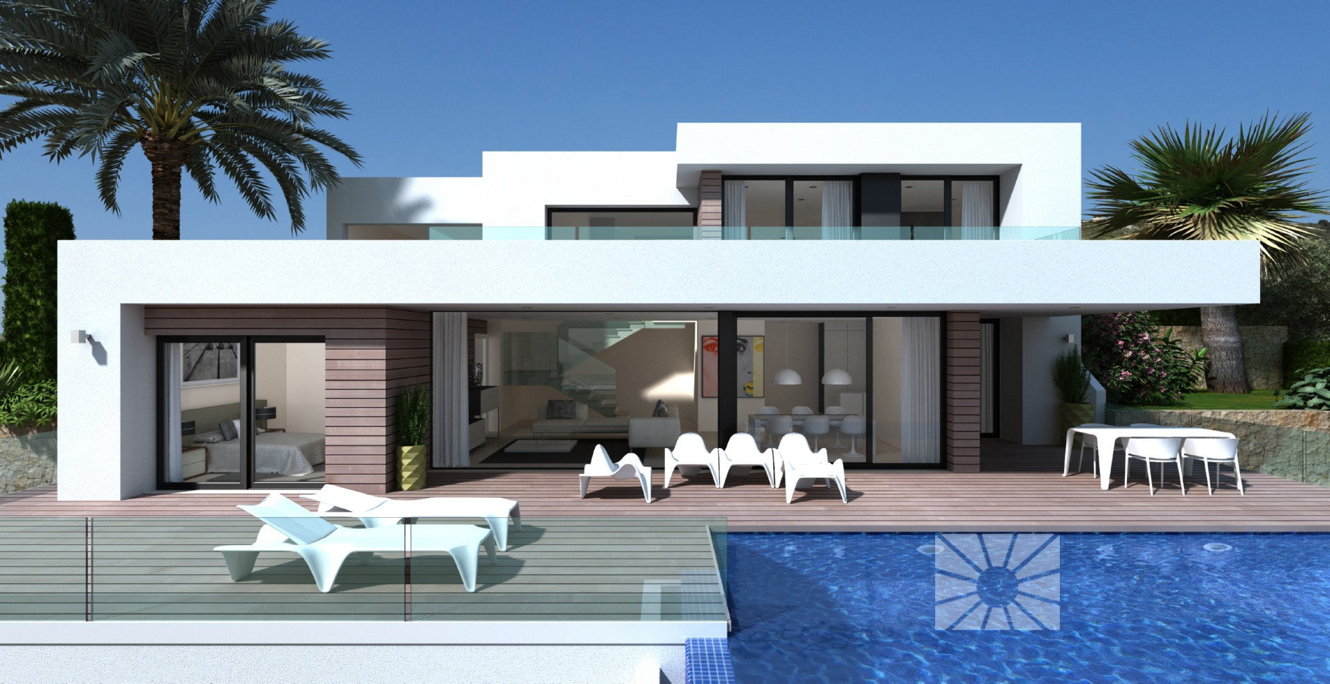 marketing exterior personalizada no_procede pe019 villa bahia - Chalets Modernos