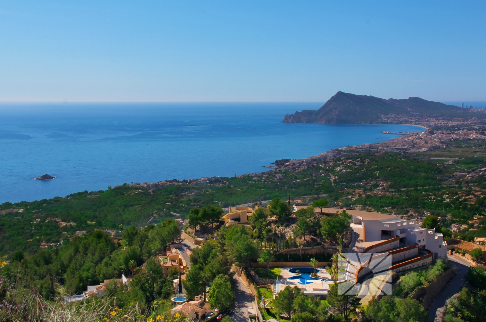 Marketing Buitenkant Kijk naar Altea Luxe Altea H1 Sierra Altea OCEAN SUITES ALTEA