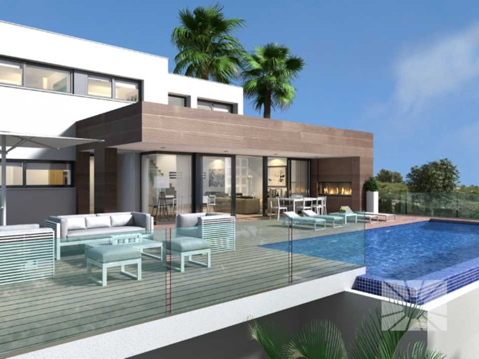 Marketing Exterior Contemporáneo SUPERIOR PE025 Villa del PUERTO