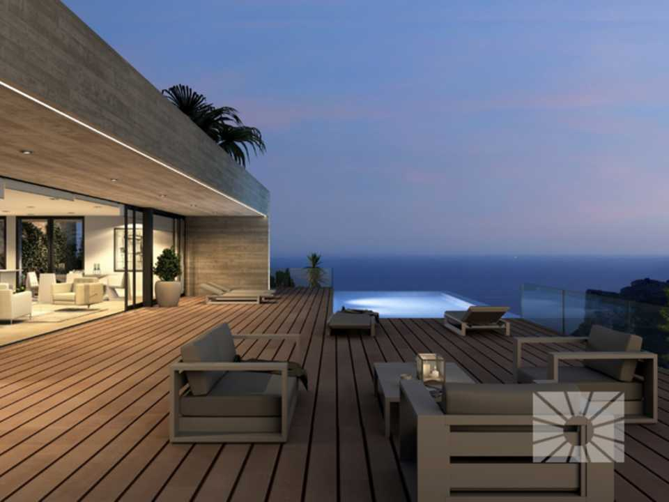 Marketing Exterior Contemporáneo SUPERIOR PE022 Villa LA TORRE