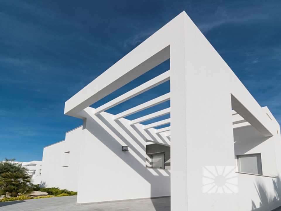 Marketing Exterior Contemporáneo PLUS AL109 Vivienda 109 Lirios - Mikonos