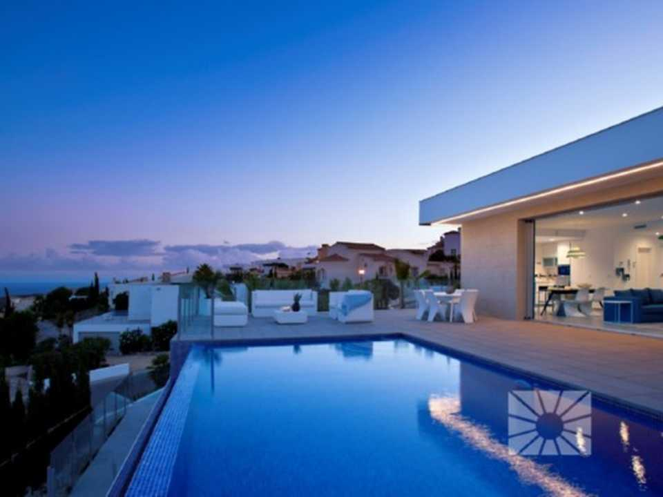 <h1>Lirios Design Cumbre del Sol modern villa for sale ref: AL103 model Mikonos </h1>