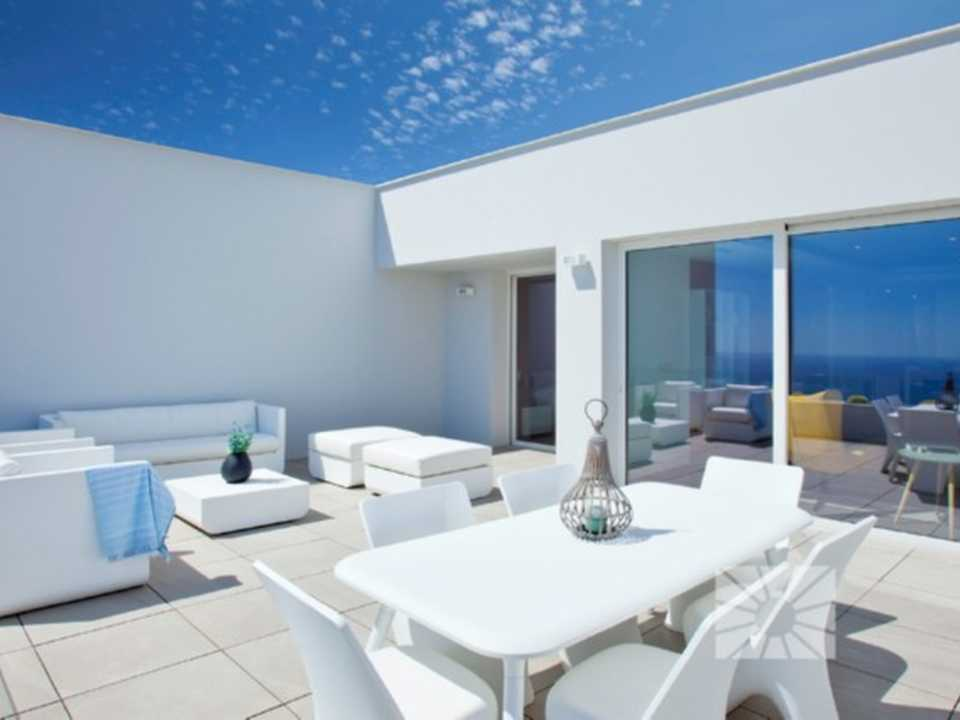 Blue Infinity Cumbre del Sol Benitachell Luxury apartment for sale ref: rfb27