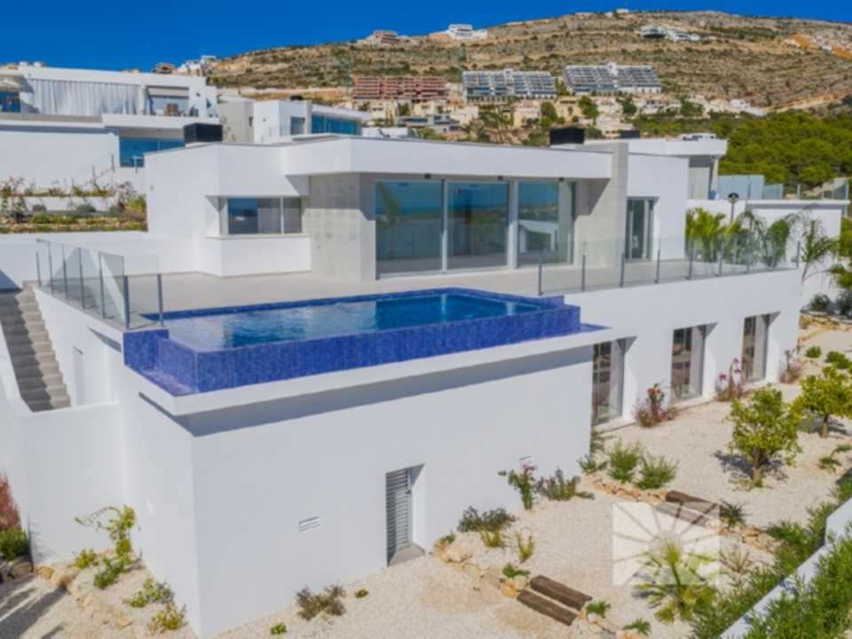 Lirios Design Cumbre del Sol modern villa for sale ref: AL190 model Creta