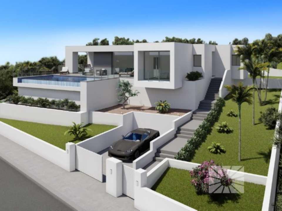 Lirios design cumbre del sol moderne villa te koop ref al