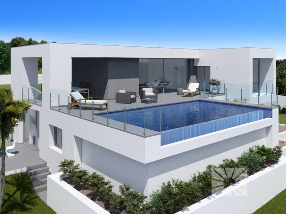 Lirios design cumbre del sol venta de chalet moderno for Mar villa modelo
