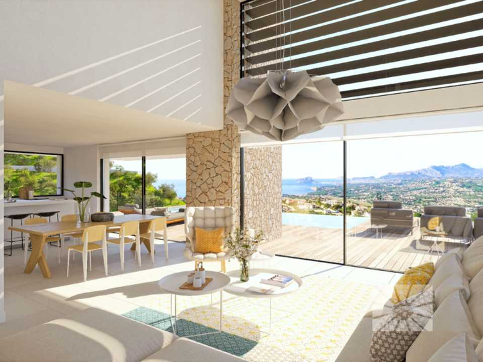Marketing Interior Contemporáneo SUPERIOR PE038 Villa ESTRELLA