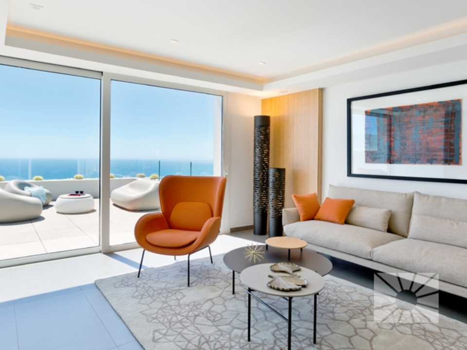 Blue Infinity Cumbre del Sol Benitachell Luxury apartment for sale ref: rfC04