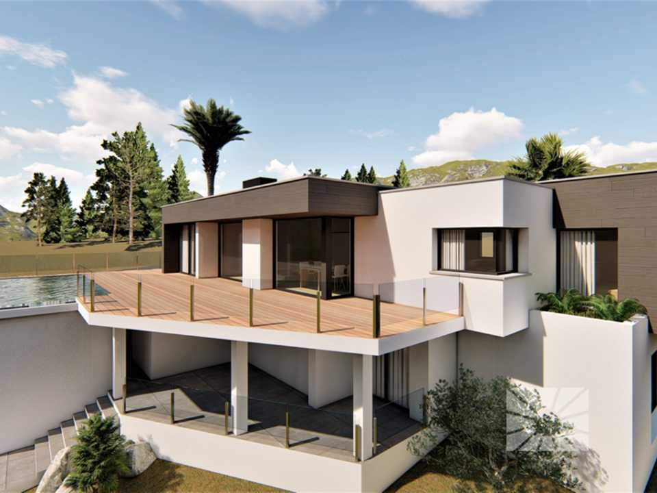 Magnolias Design Cumbre del Sol modern villa for sale ref: AM157 model Secret