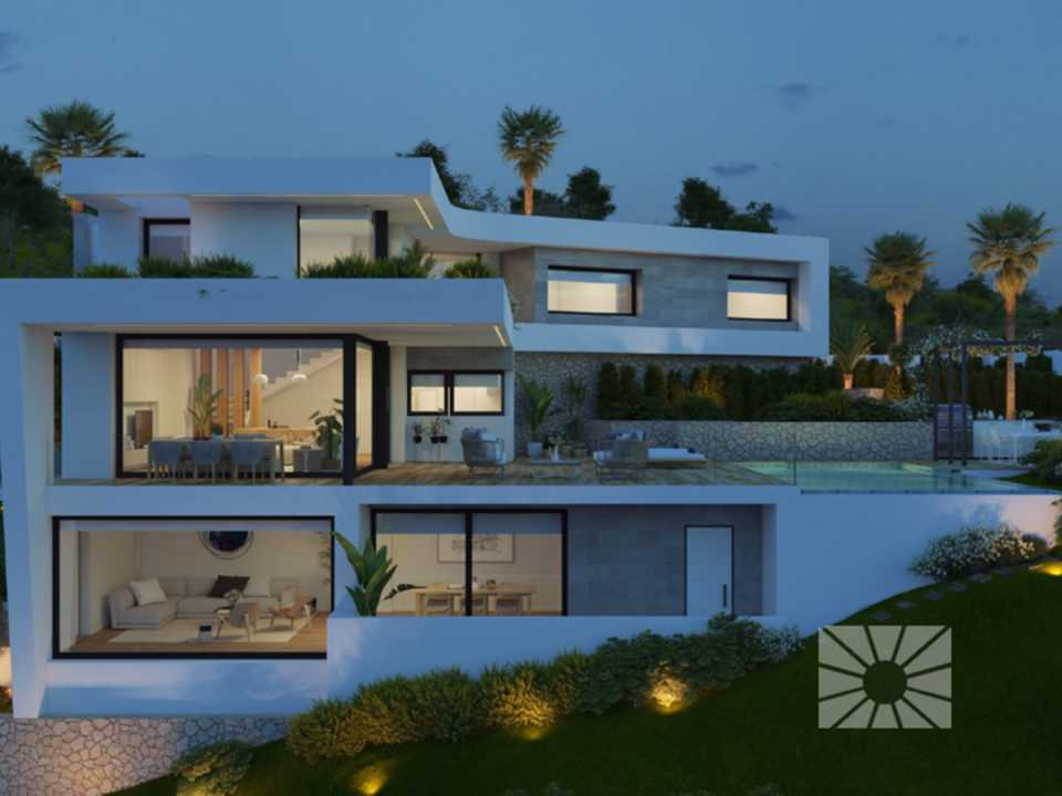 <h1>Encinas Design Cumbre del Sol modern villa for sale ref: AE084 model Eden</h1>