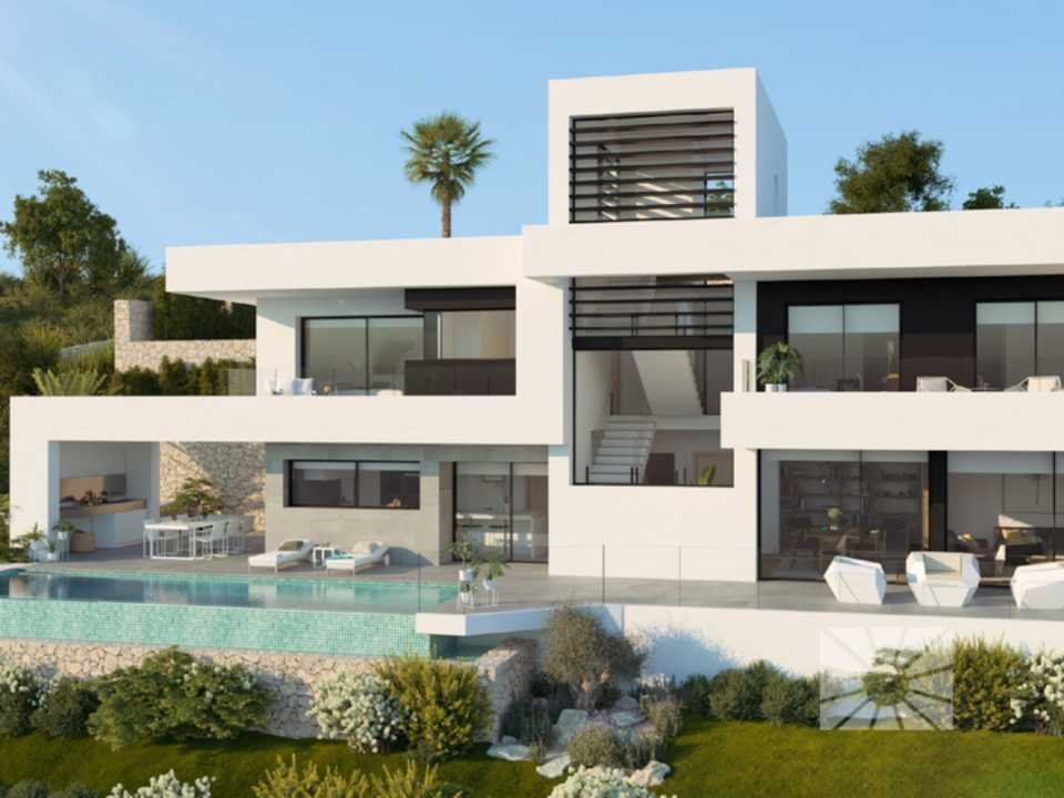 Azure Altea Homes 2, exklusive Luxusvillen in Altea, modell Tempo