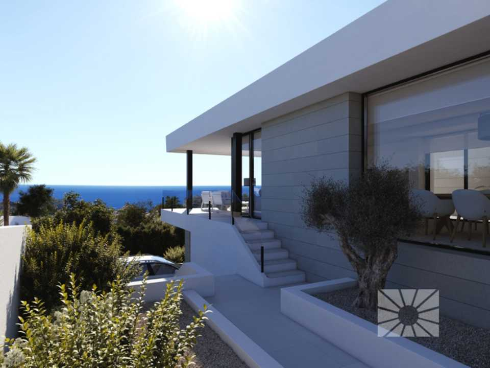 Marketing, Exterior, Vista desde, Benitachell, Cumbre Del Sol, ENCINAS, AE05 Encinas Design