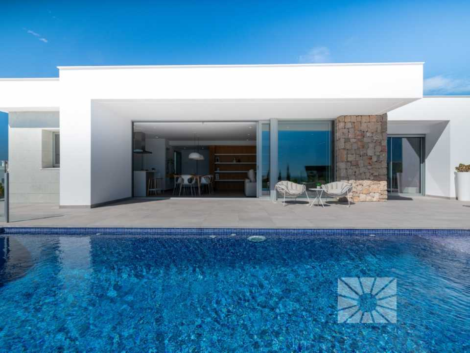 Magnolias Design Cumbre del Sol modern villa for sale ref: AM169 model Pure Design