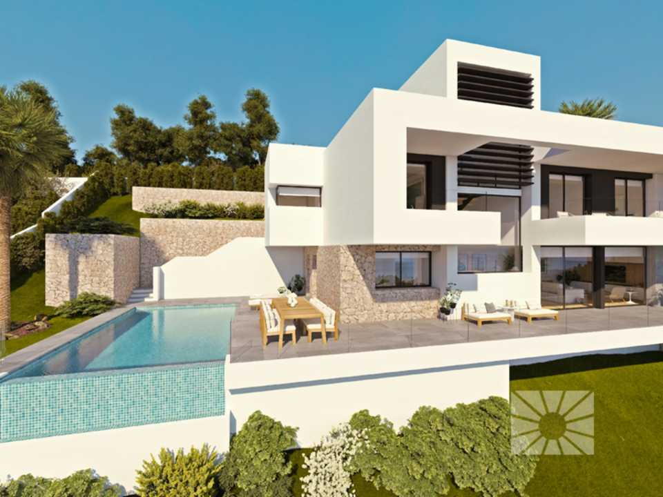 Azure Altea Homes 2, exklusive Luxusvillen in Altea, modell Plenum