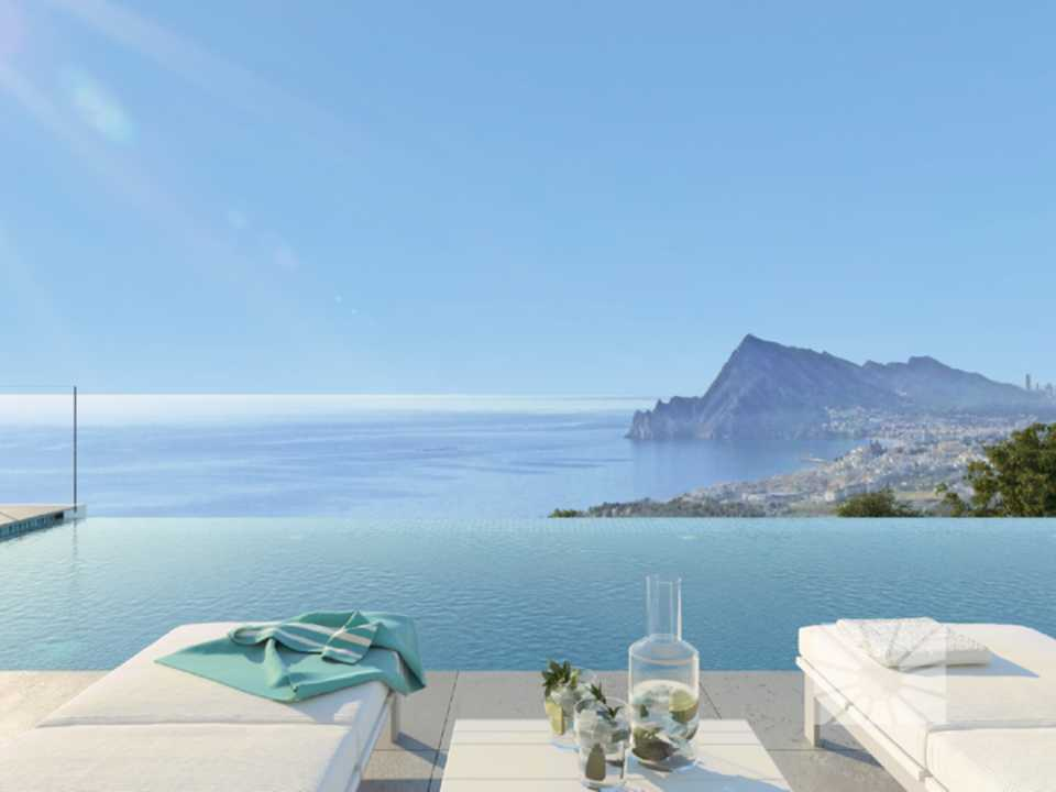 De marketing Extérieur Vue depuis Altea H2 Altea Golden Altea