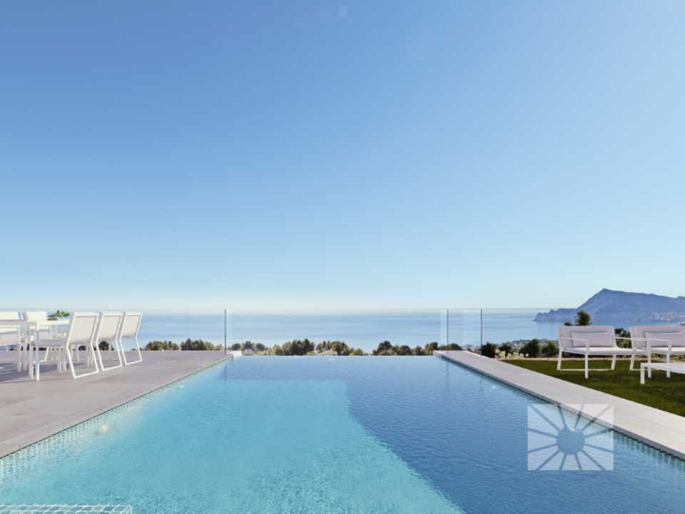 Azure Altea Homes exclusieve luxe villa's in Altea, model Senza