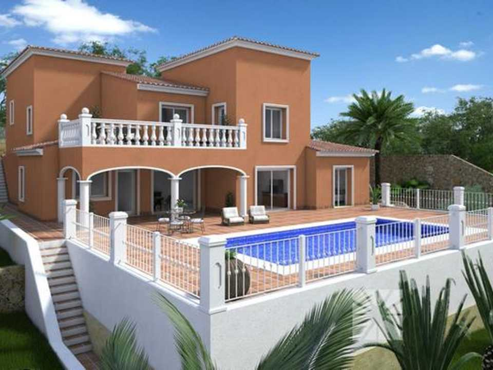 <h1> Villa model BERNA, villas for sale in Cumbre del Sol Costa Blanca.</h1>