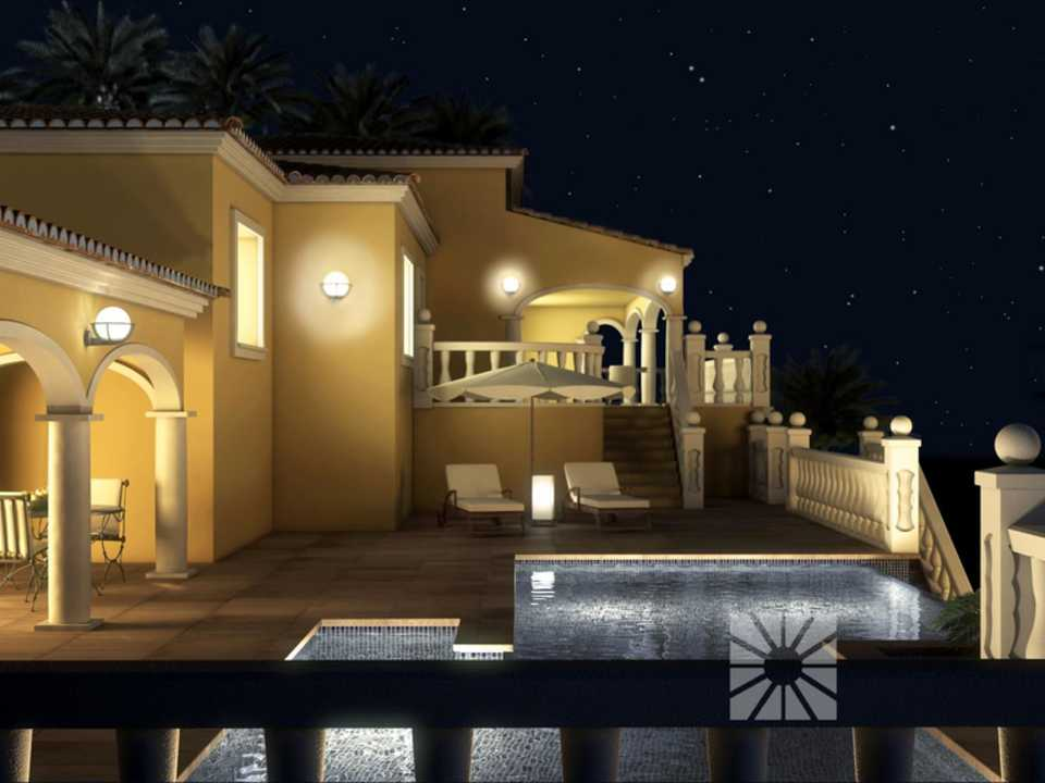 Marketing Exterior Neo-classical CUSTOM PP003 Villa Dels Arcs Luxury