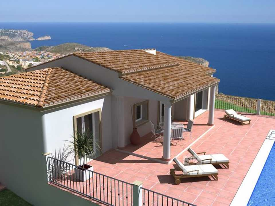 <h1> Villa model PULA, villas for sale in Cumbre del Sol Costa Blanca.</h1>