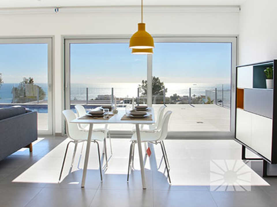 <h1>Lirios Design Cumbre del Sol modern villa for sale ref: AL175 model Samos</h1>