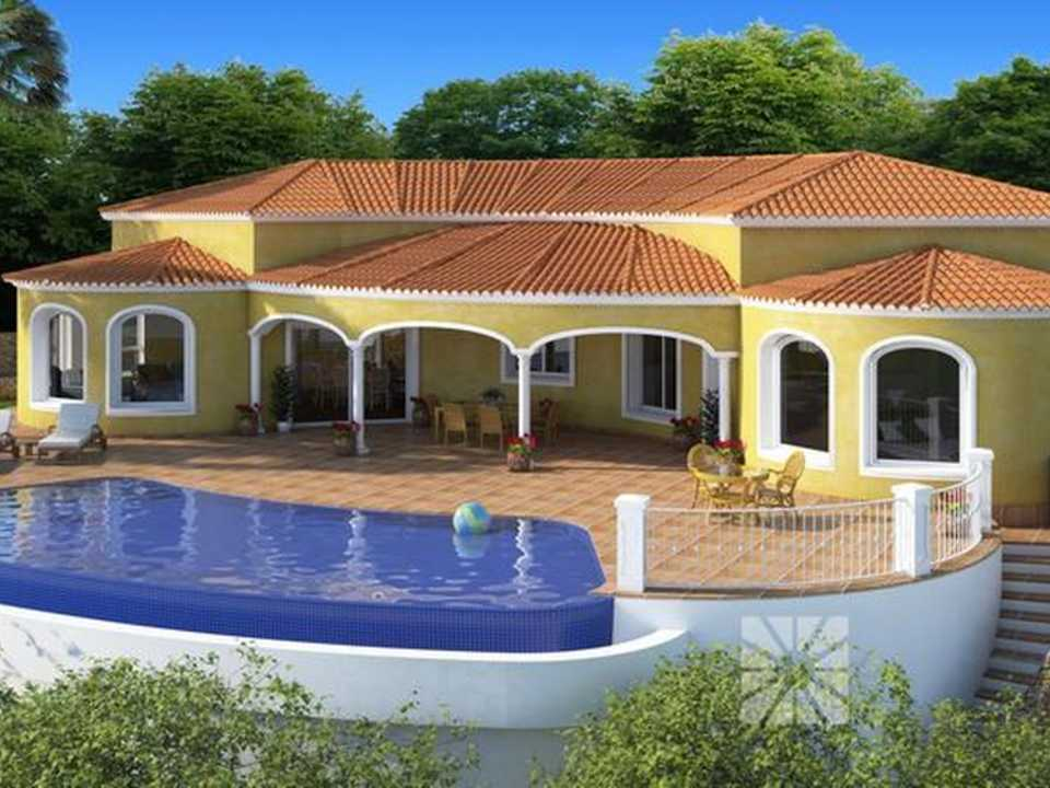 <h1> Villa model SEVILLA, villas for sale in Cumbre del Sol Costa Blanca.</h1>