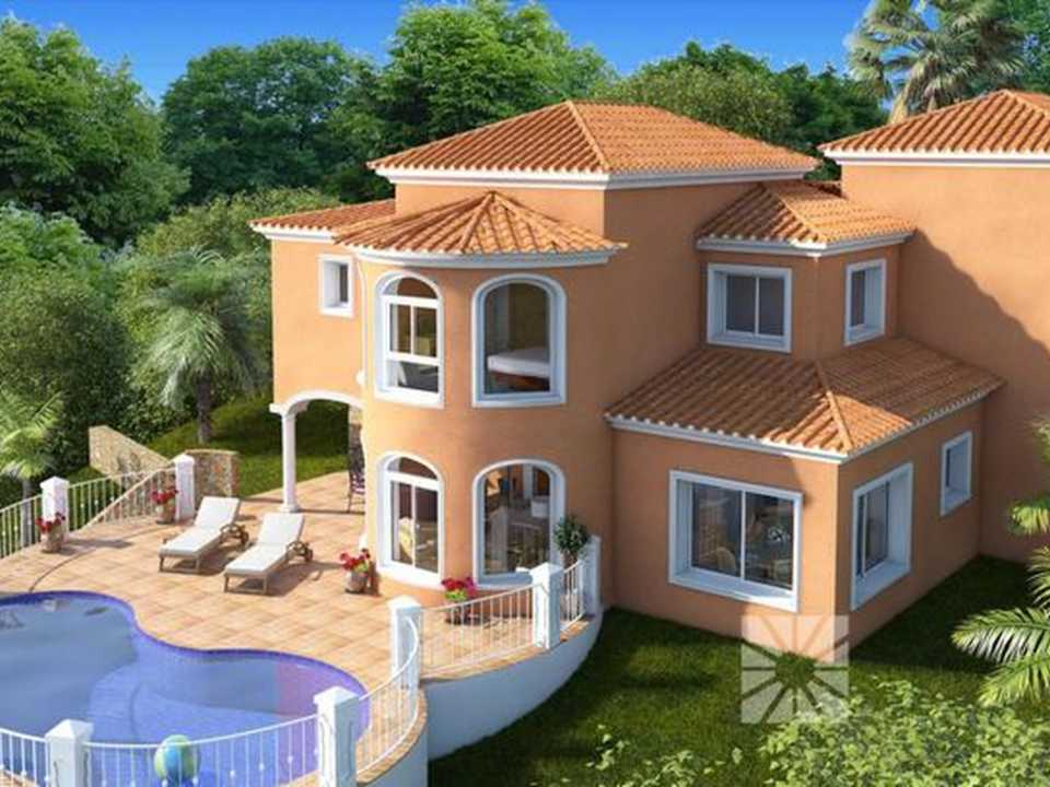 <h1> Villa model VIENA, villas for sale in Cumbre del Sol Costa Blanca.</h1>