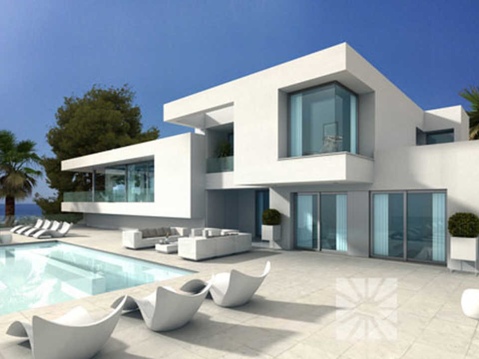 <h1>Villa Ibiza  luxury modern villa for sale Cumbre del Sol in Benitachell</h1>