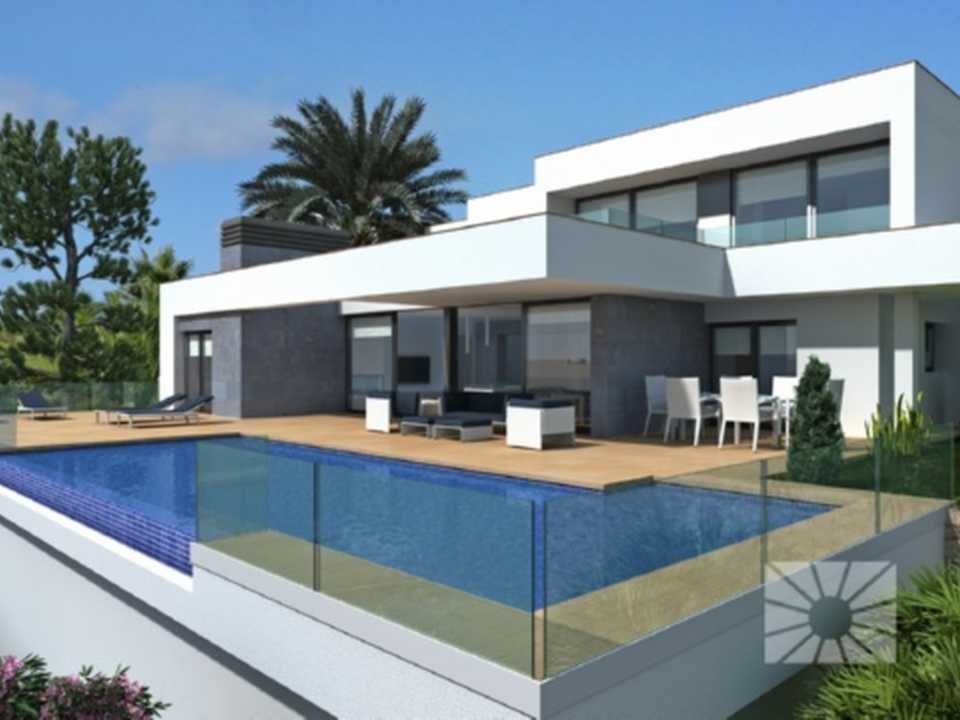 <h1>Villa Ifach, House for Sale in Cumbre del Sol plot am190 Magnolias Plus</h1>