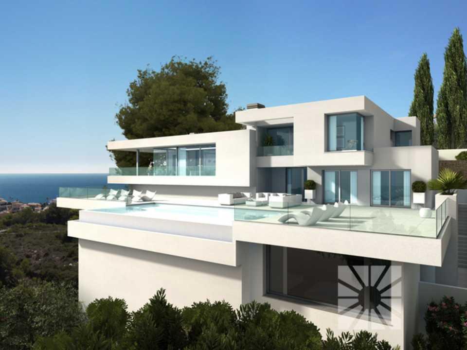 Chalet villa ibiza casa en venta en cumbre del sol for Mar villa modelo