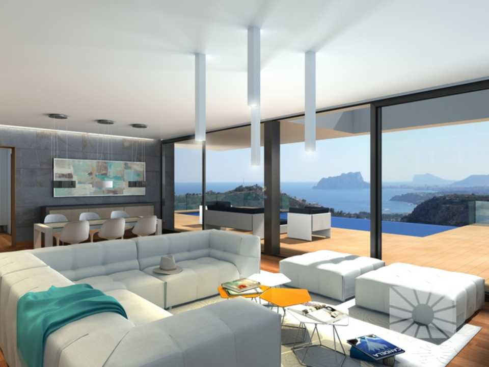 Marketing Interior Contemporáneo LUJO Lujo PE012 Villa Ifach