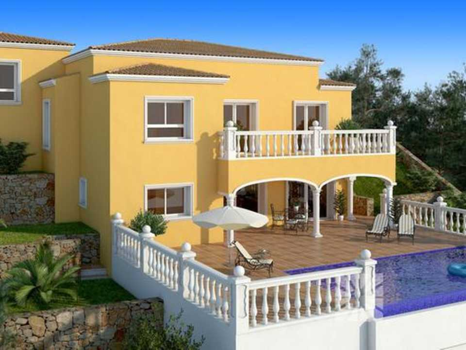 <h1> Villa model BREMEN, villas for sale in Cumbre del Sol Costa Blanca.</h1>