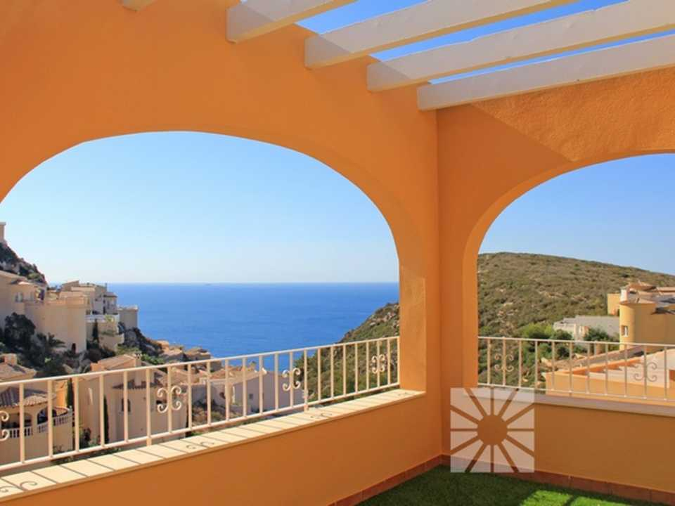 Miramar de Montecala Cumbre del Sol Benitachell apartment for sale ref: PF013
