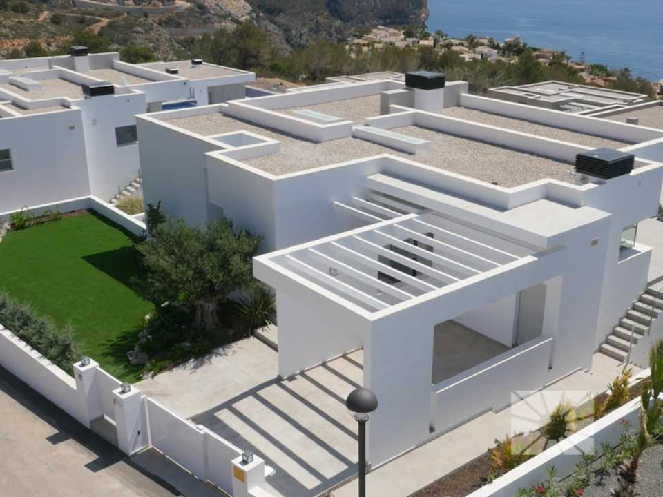 Marketing Exterior View towards Benitachell Cumbre del Sol LILIES AL04 LILIES RESIDENTIAL DESIGN