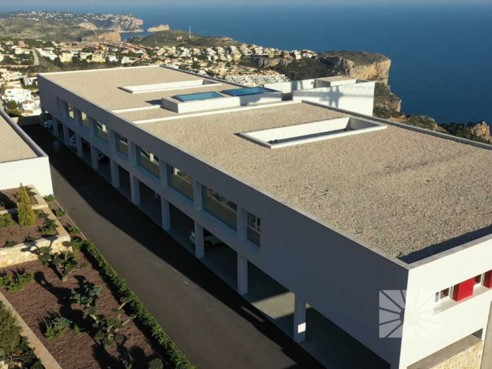 Blue Infinity Cumbre del Sol Benitachell Luxury apartment for sale ref: RFA11